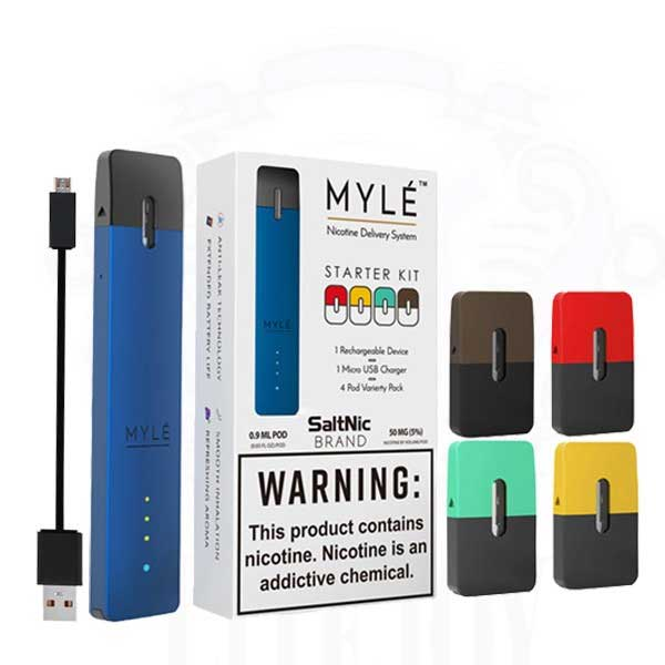MYLE Starter Kit with 4 pods