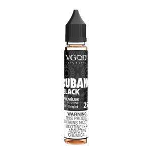 VGOD SaltNic – Cubano Black 30ml ( 25 , 50 mg) Nic Salts