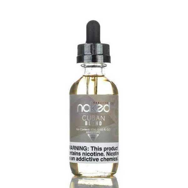 Naked 100 Tobacco - Cuban Blend 60ml (3 , 6 mg) - Vape Bazaar