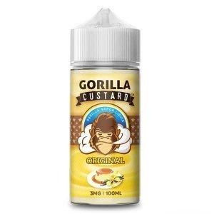Gorilla Custard – Original 100ml (3 , 6 mg) Eliquids