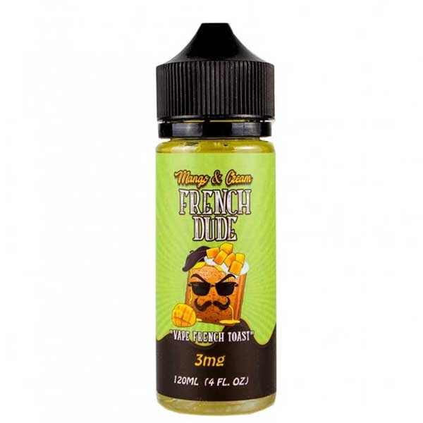 French-Dude-Mango-And-Cream-120ml-Ejuice-Online-in-Pakistan