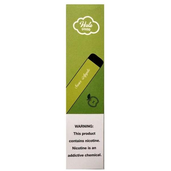 Hale-Puff-Bar---Sour-Apple-Disposable-Pod-Device-(50mg)---1-Pc