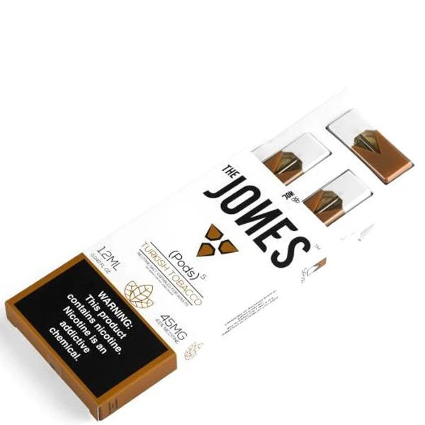 Jones-–-Juul-Compatible-Turkish-Tobacco-Pods-45mg-–-5-Pcs-2