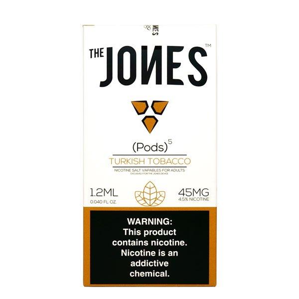 Jones-–-Juul-Compatible-Turkish-Tobacco-Pods-45mg-–-5-Pcs