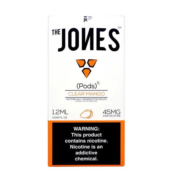 Jones---Juul-Compatible-Clear-Mango-Pods-45mg---5-Pcs