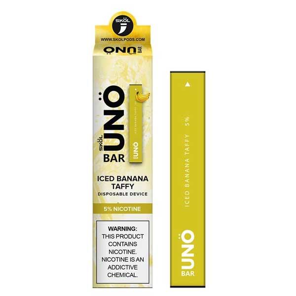 SKOL-Uno-Bar-ICED-Banana-Taffy-Disposable-Pod-Device-in-Pakistan