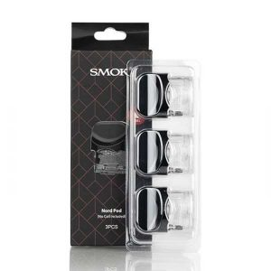 SMOK Nord Replacement Pods 3ml – 3 Pcs Accessories 2