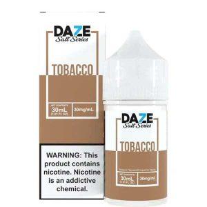 7-Daze-Salt-Tobacco-Nic-Salt-30ml-Best-Ejuice-in-Pakistan-by-VapeStation1